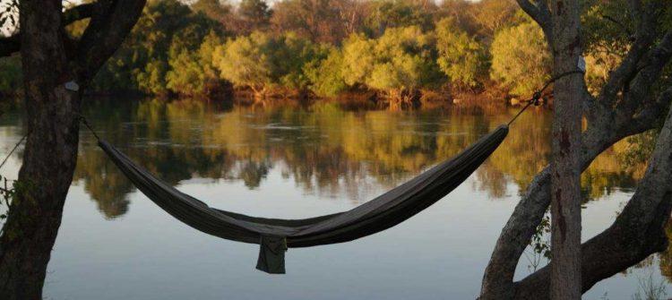 Riverside hammock