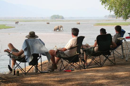 Game viewing at Ndungu