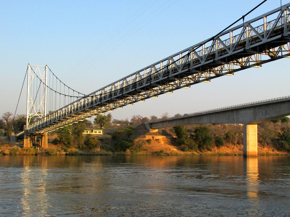 Chirundu border bridge