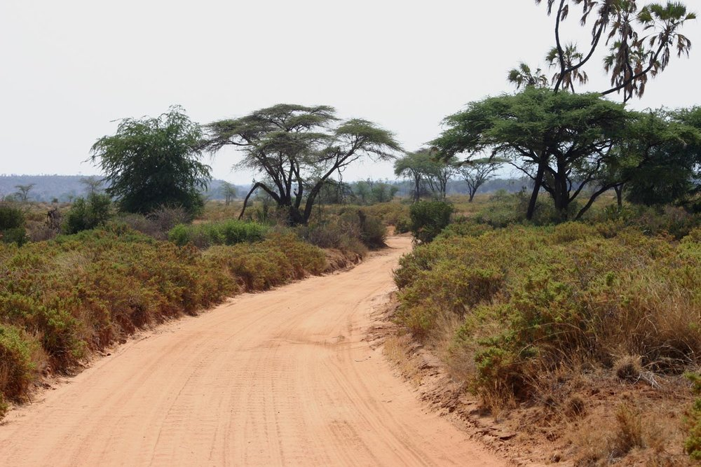 Beautiful African roads