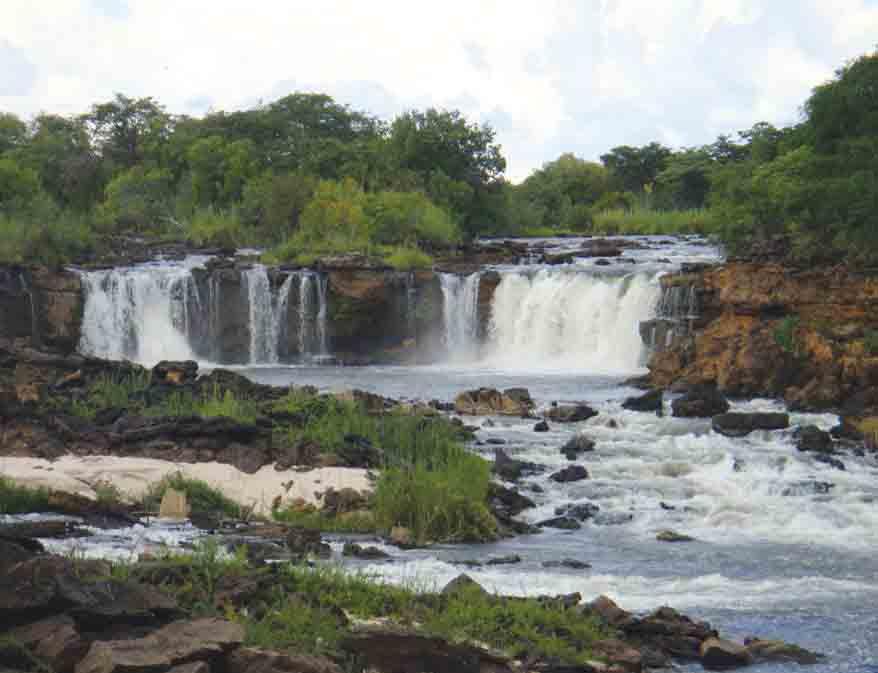 Ngonye Waterfalls