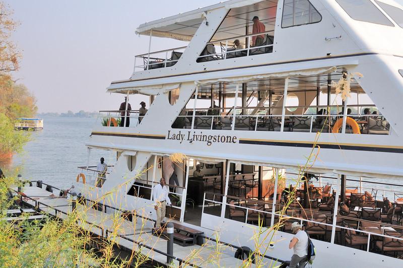 Sunset cruise on the Zambezi River, Victoria Falls