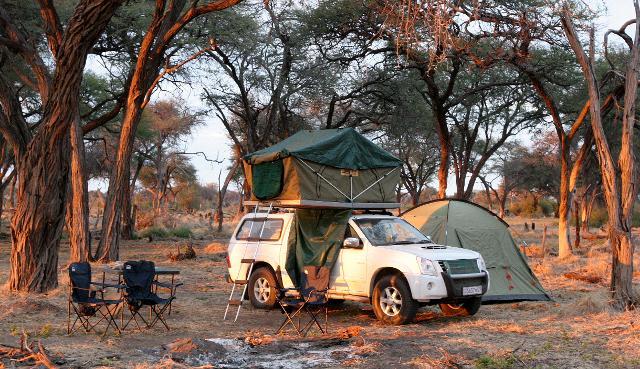 Khwai Concession campsite