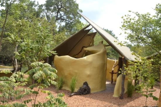 Ablution facilities in the bush