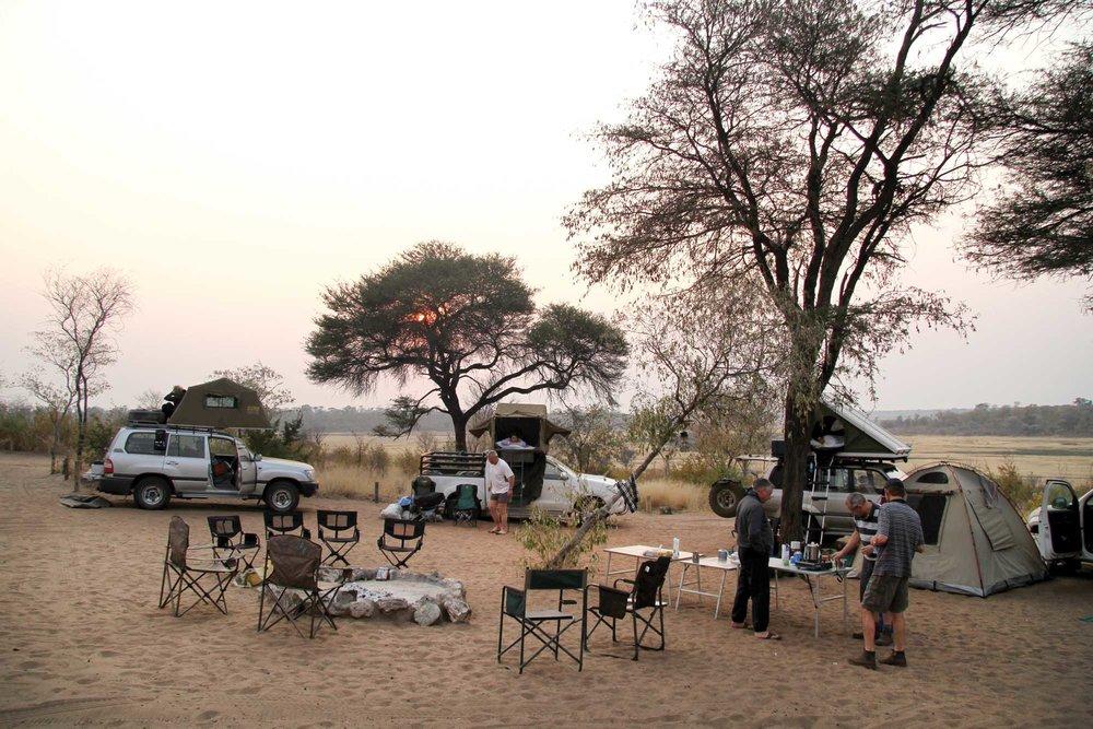 Khaudum campsite