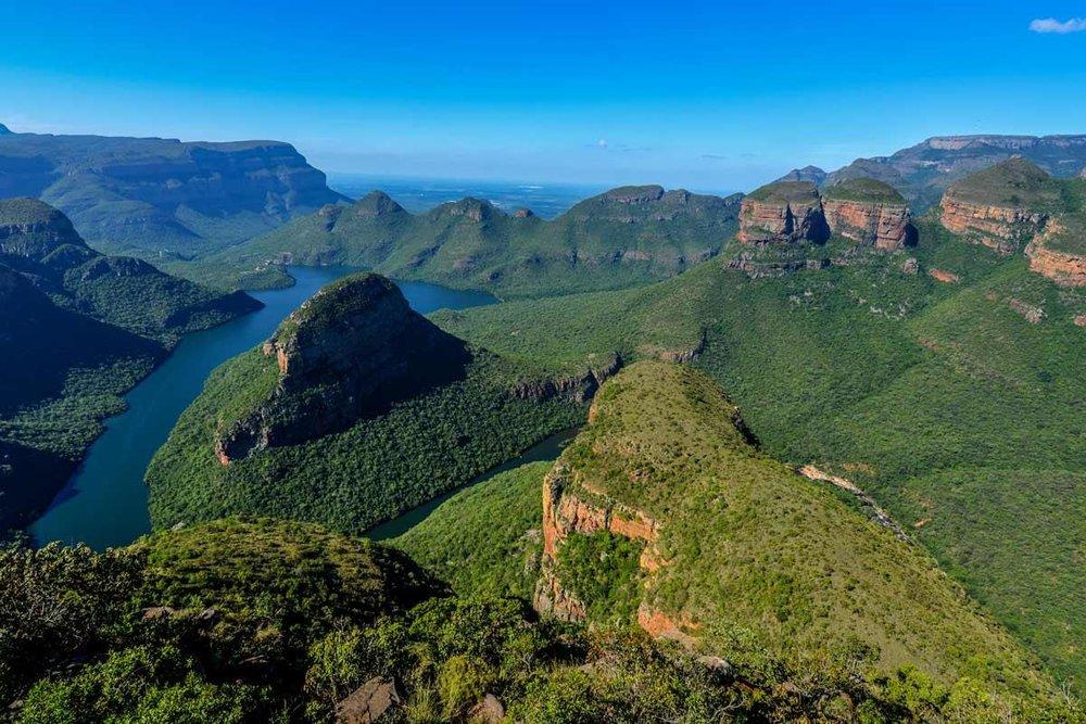 The Three Rondavels in Mpumalanga