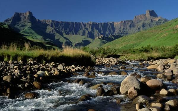 Drakensberg amphitheatre.