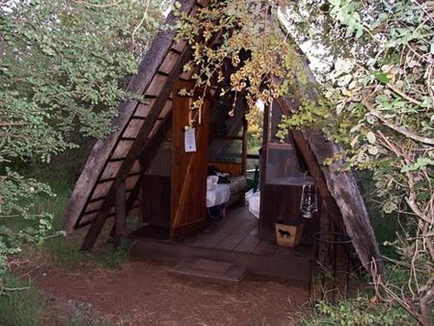 napi trail safari hut in south africa