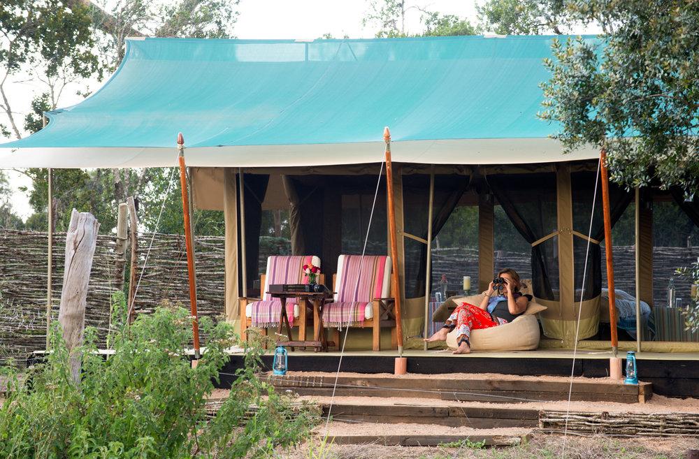 kenya safari tent