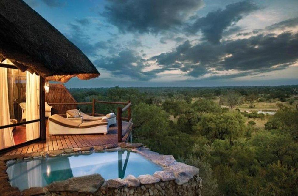leopard hills chalet scenery south africa safari