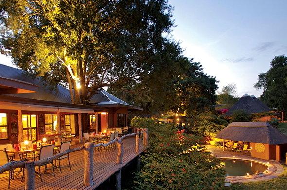 mala mala main dining deck south africa safari