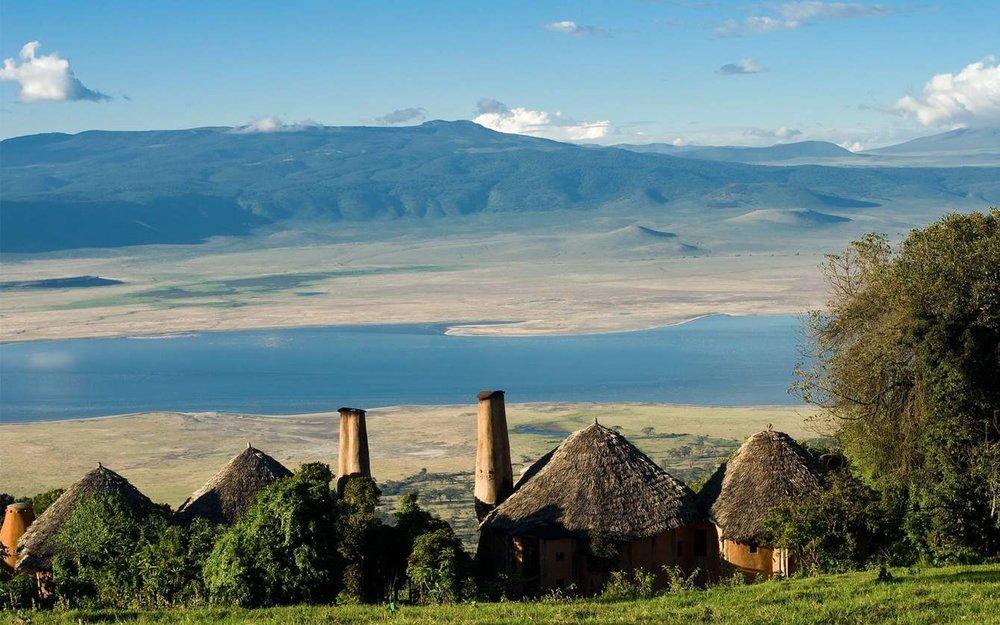 Ngorongoro Crater africa tanzania safari