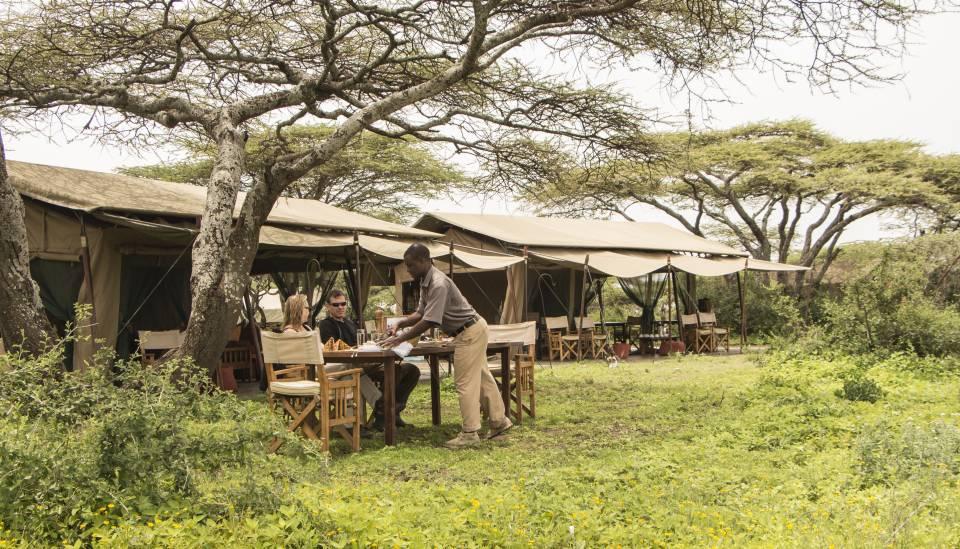ubuntu safari tent in tanzania