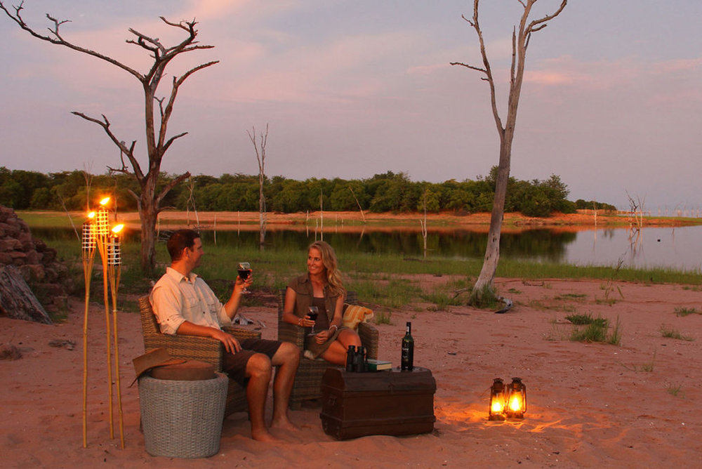 changa matusadona lake kariba zimbabwe africa