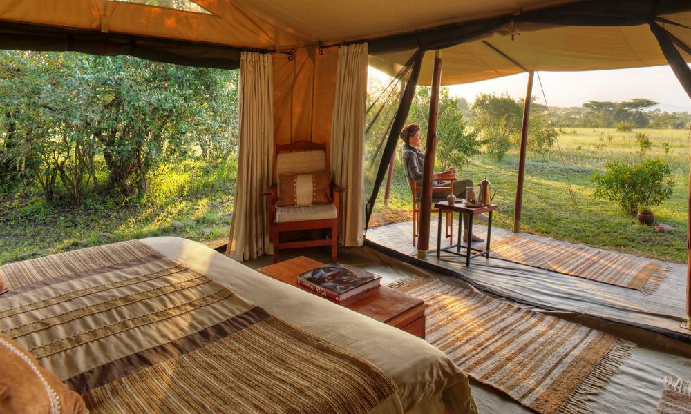 encounter mara camp on safari in kenya