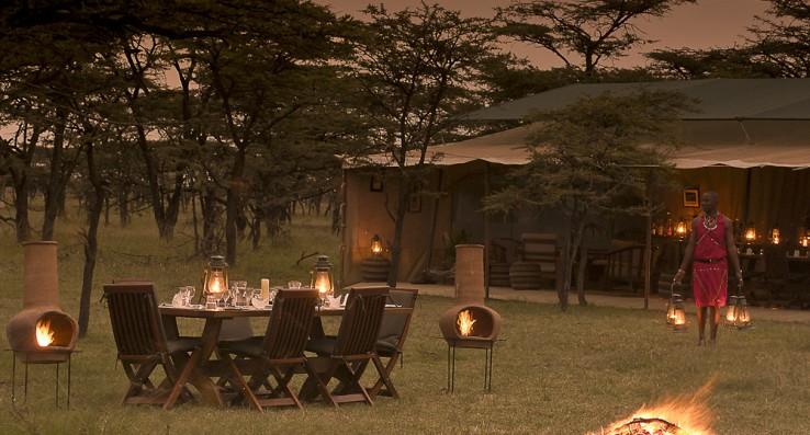 safari tent at laikipia in kenya