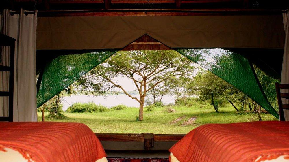 bakers lodge murchison falls national park uganda africa