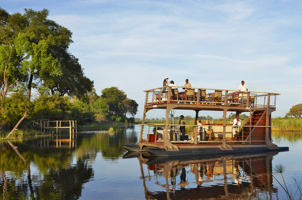 linyanti concession boat river botswana africa