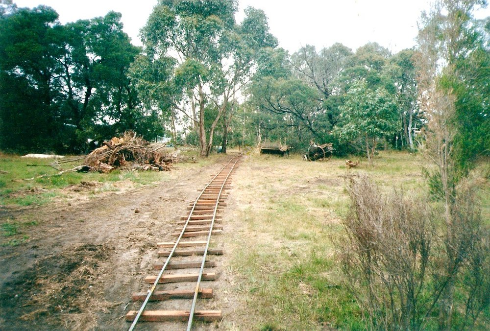 Tyabb Village train tracks