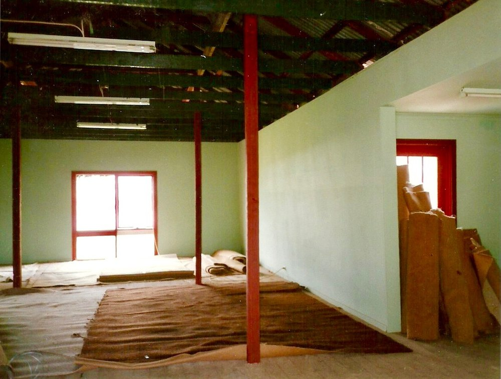 Interior Tyabb Grain Store