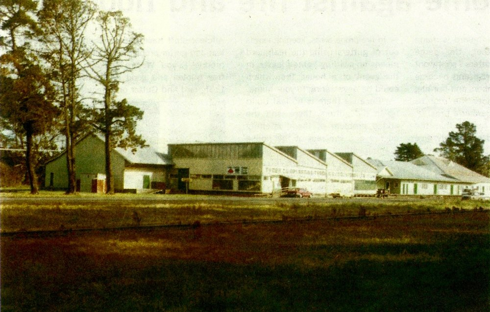 Tyabb Packing House exterior circa 1970s
