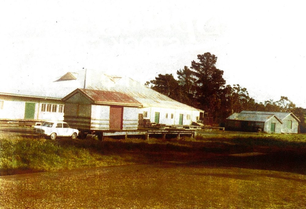 Tyabb Grain Store (far right) circa 1970s.