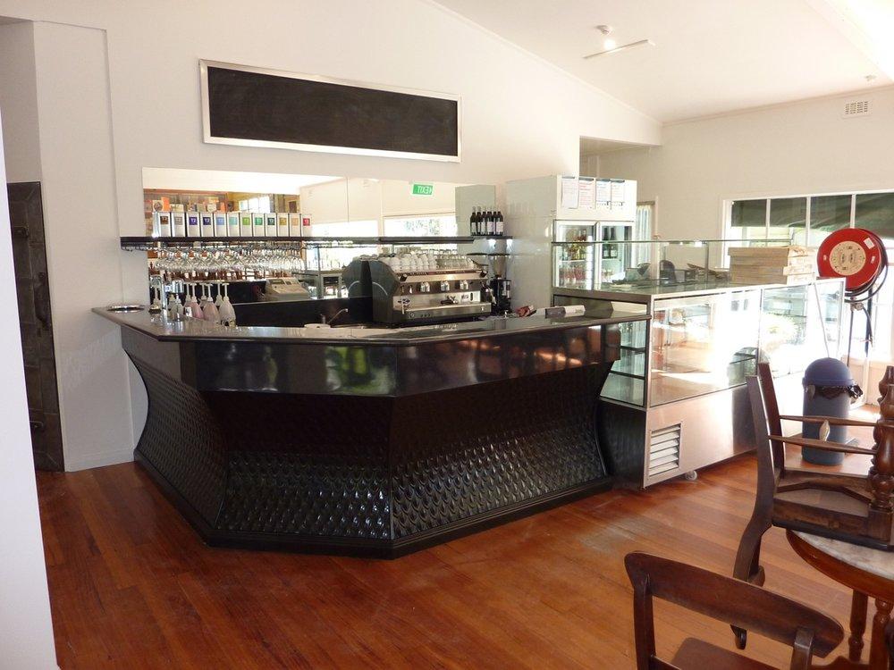Café following renovation