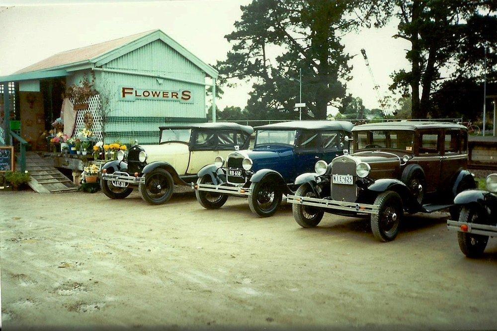 Car park, pre-asphalting.