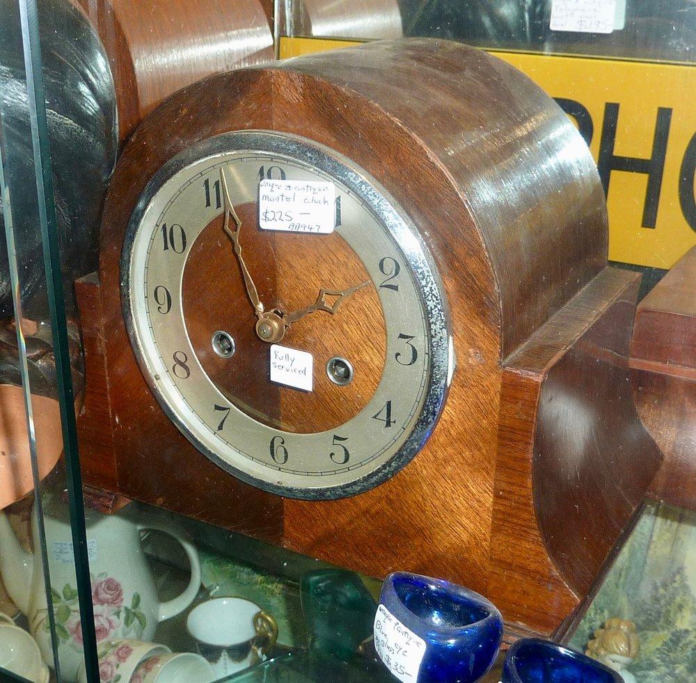 Mantel Clock  Fully Serviced  Dealer:  Unique & Antique   Price: $225
