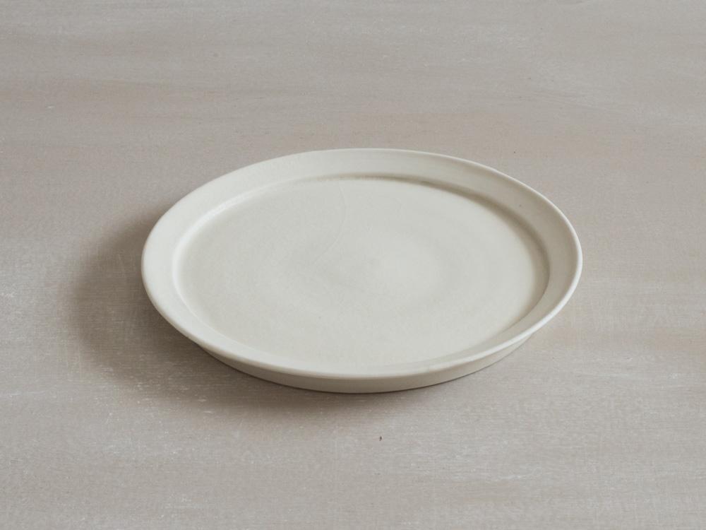 リム皿・白 /M