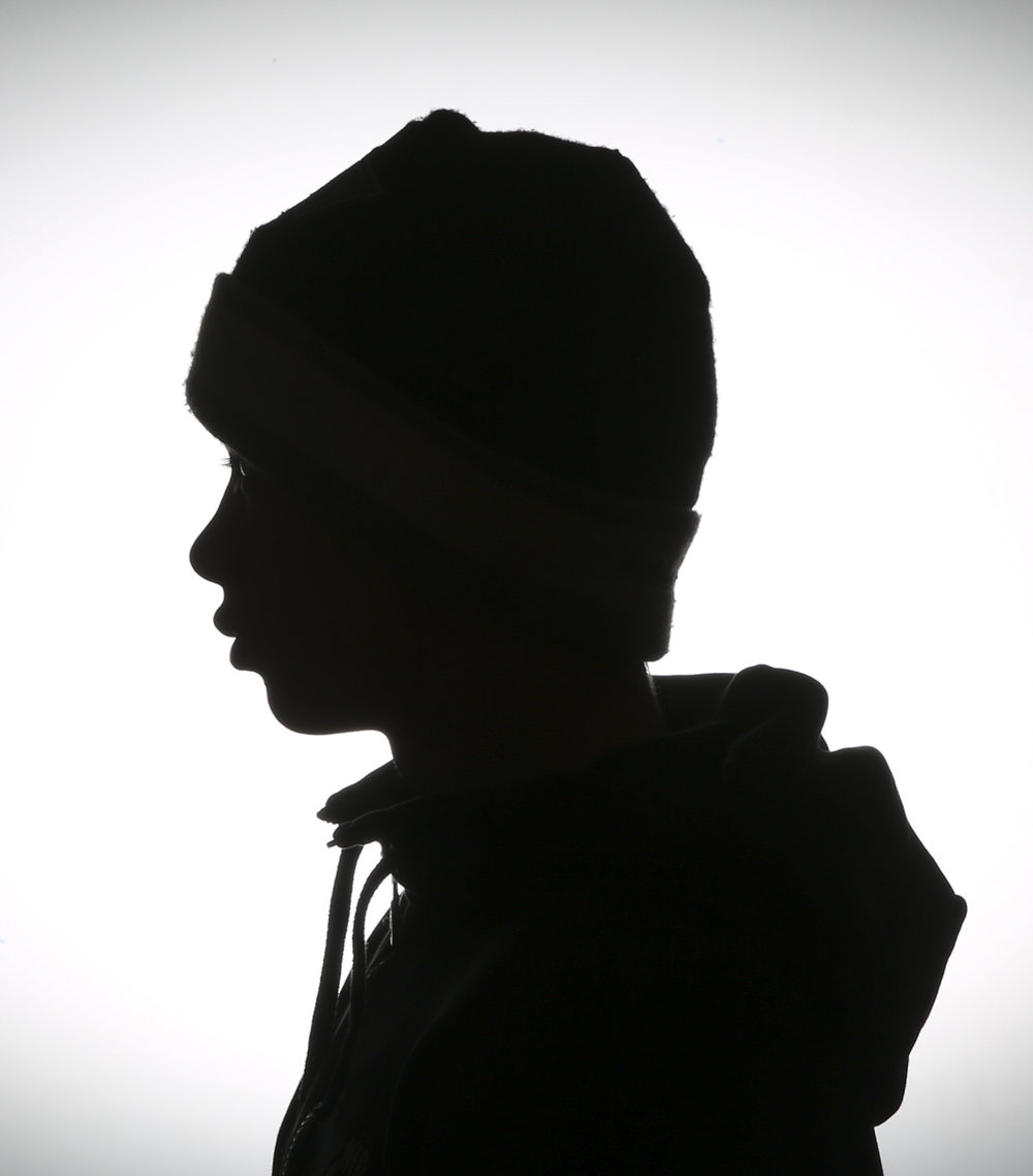 Silhouette image of participant on Summer Arts College.