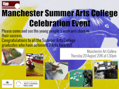 Manchester Summer Arts College Invite 2015.jpg