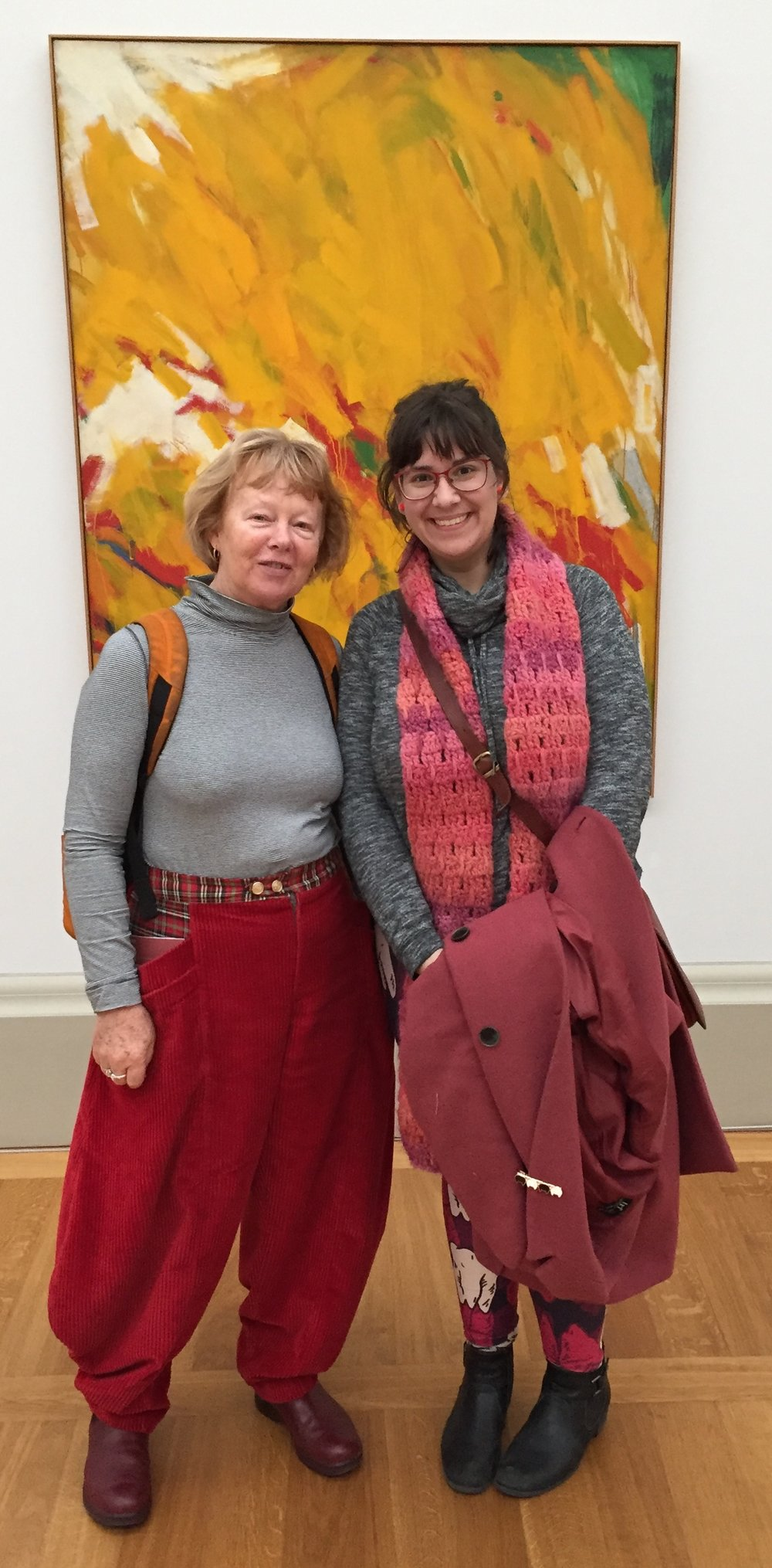 Jo Ristovski and me at Tate Britain.jpg