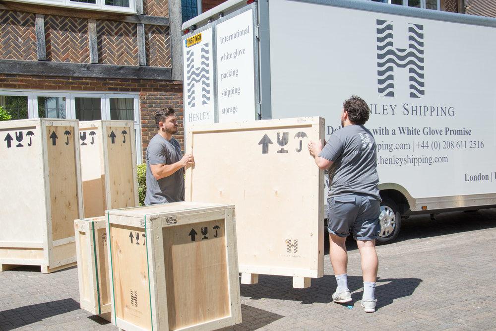 Henley Shipping - Showing what you 'do'.