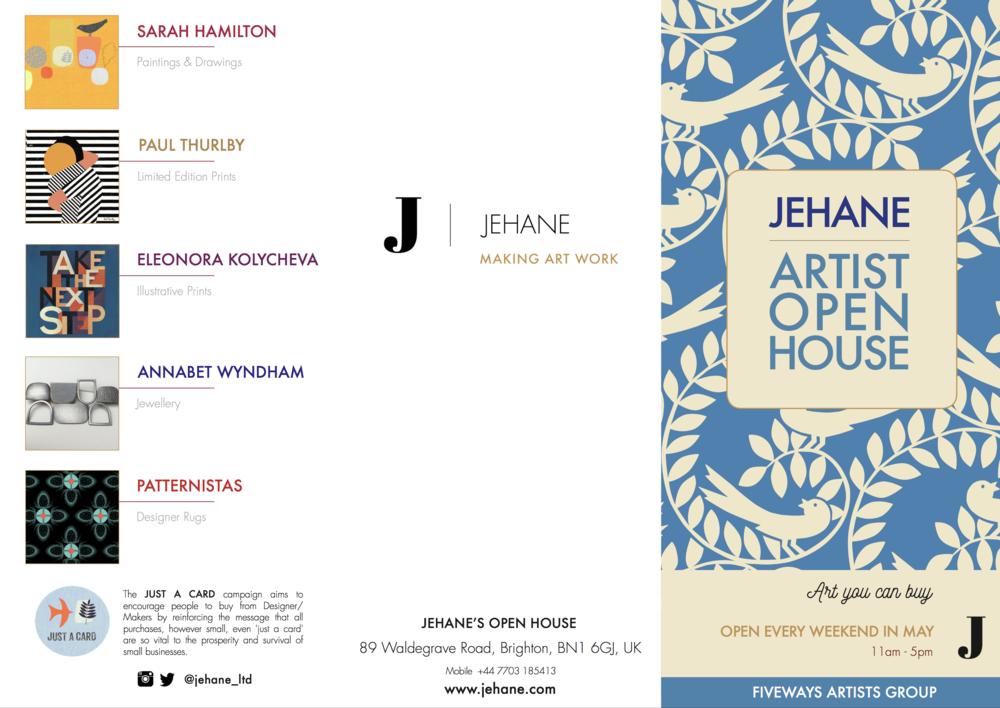 JEHANE'S OPEN HOUSE - 89 Waldegrave Road, Brighton, BN1 6GJ