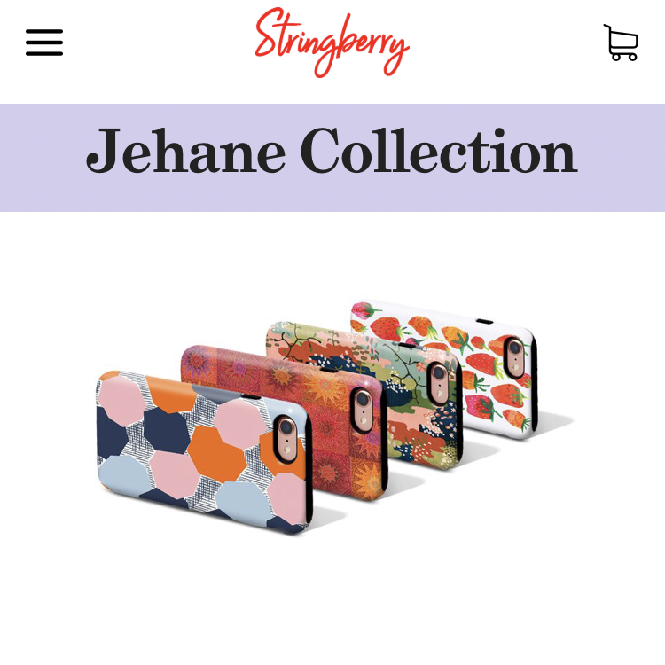 The Jehane collection for Stringberry