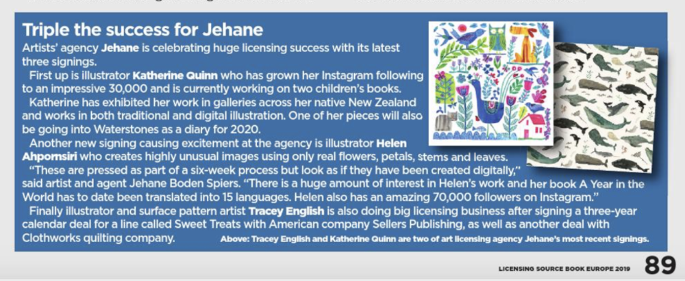 Licensing Source Book 2019, p89  Read more
