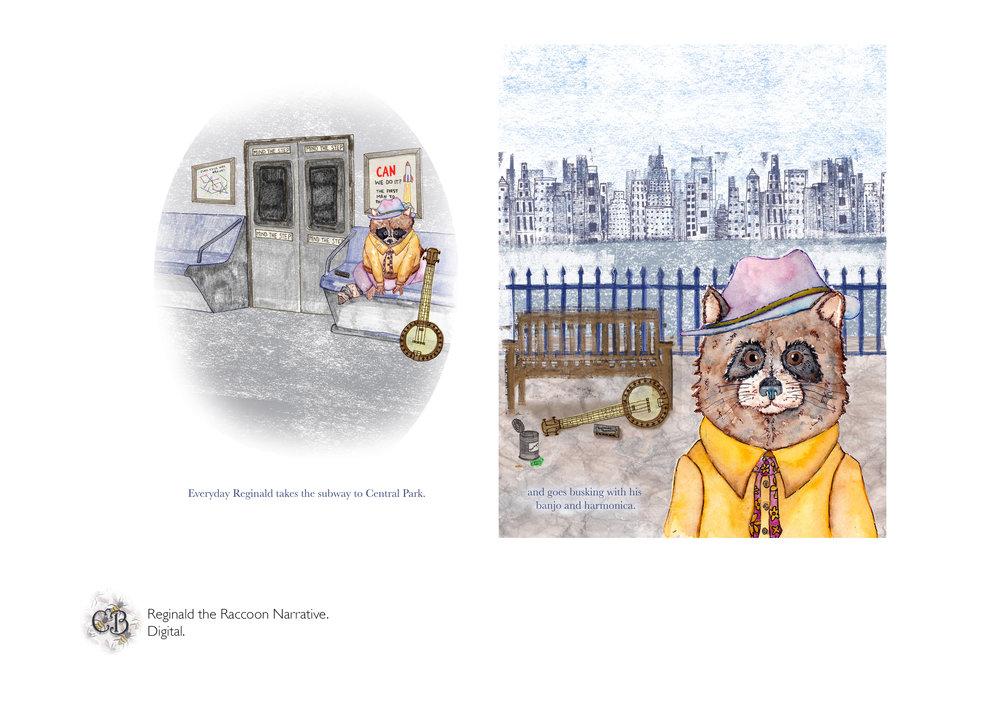 Reginald the Raccoon Narrative