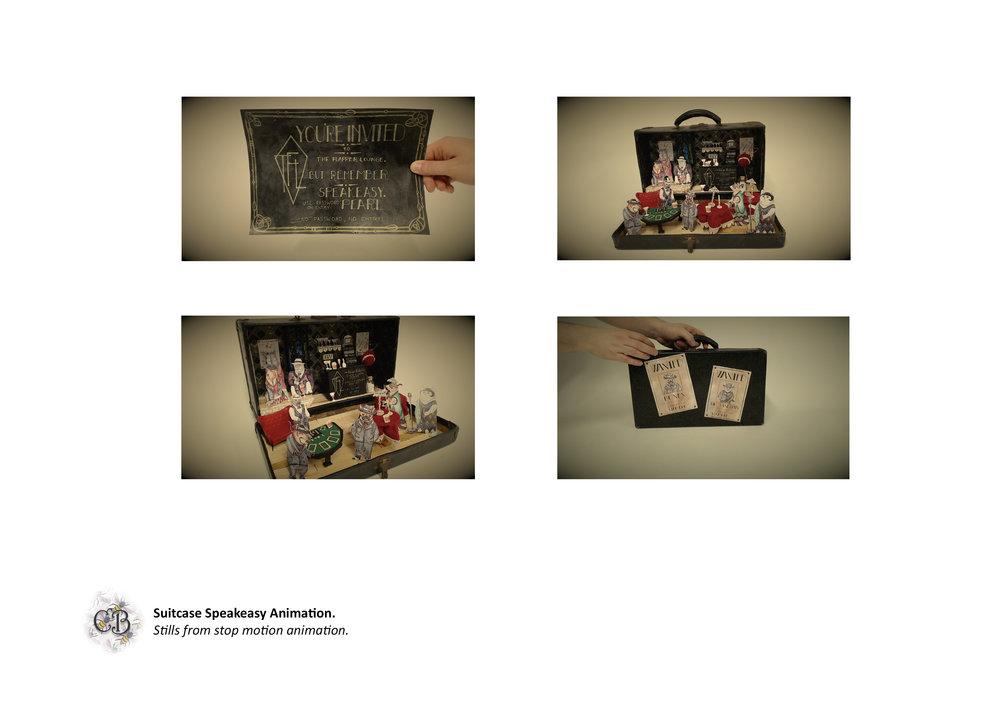 Suitcase Speakeasy Animation