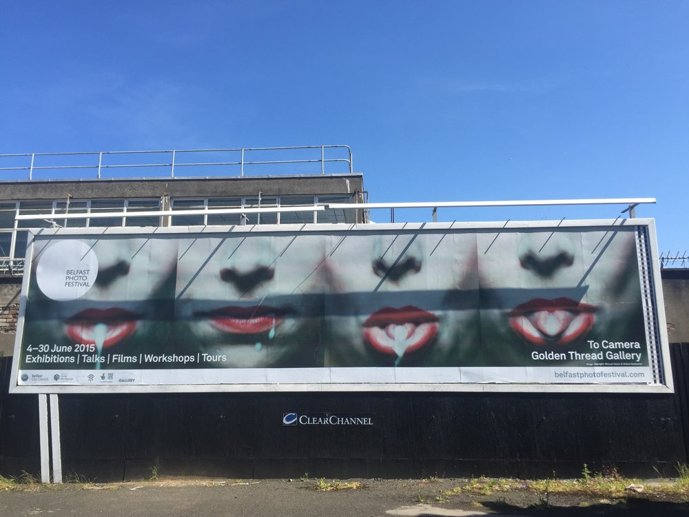 Belfast Photo Festival - Billboard