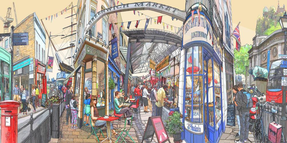 Greenwich Market SE10