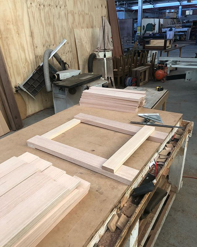Another batch of trestle tables coming up for @feldandco #trestle #table #furniture #craftsman #handcrafted #furnituredesign #maker #smallbusiness #freo #fremantle #perth