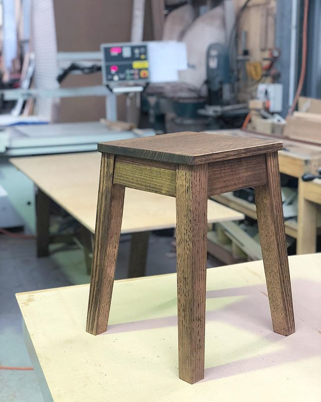 That's a great way to finish the week. 12 stools and 3 trestle tables for @feldandco Vic ash stained in Teak and finished with Osmo oil #furniture #furnituredesign #fremantle #freo #perth #furnituremaker #stools #trestle #table #trestletable #maker #craftsman