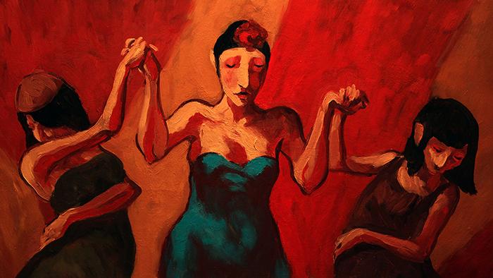 Image:   Tango of Longing   Marta Szymanska (2018)