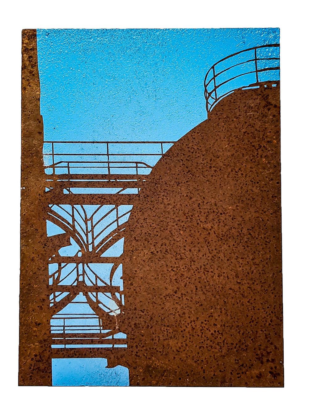 stairwell 1 -