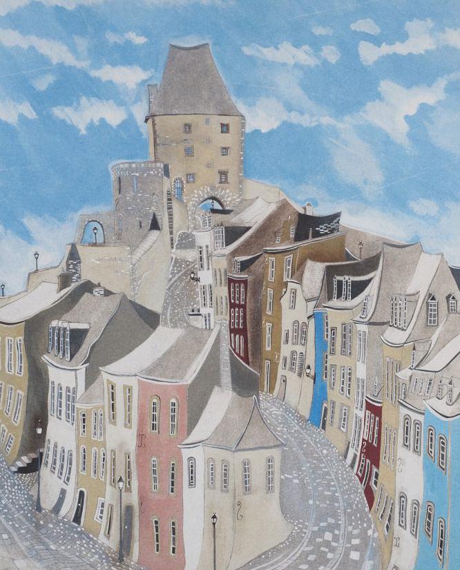 cobbled street - Offset print40 x 50 cmEUR 150