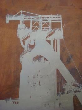 Metal plate 1 -
