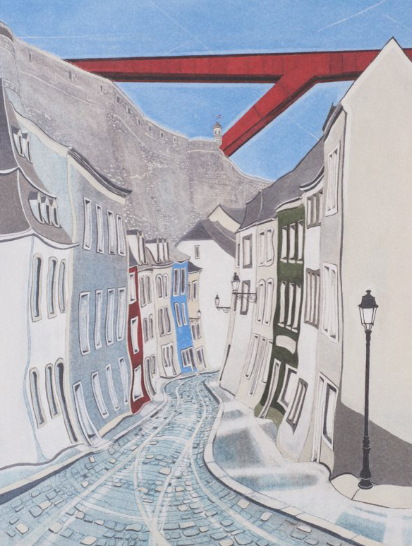 Red Bridge - Offset print30 x 40 cmEUR 150