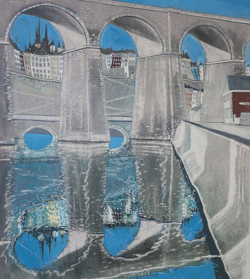 Three arches - Offset print60 x 70 cmEUR 250