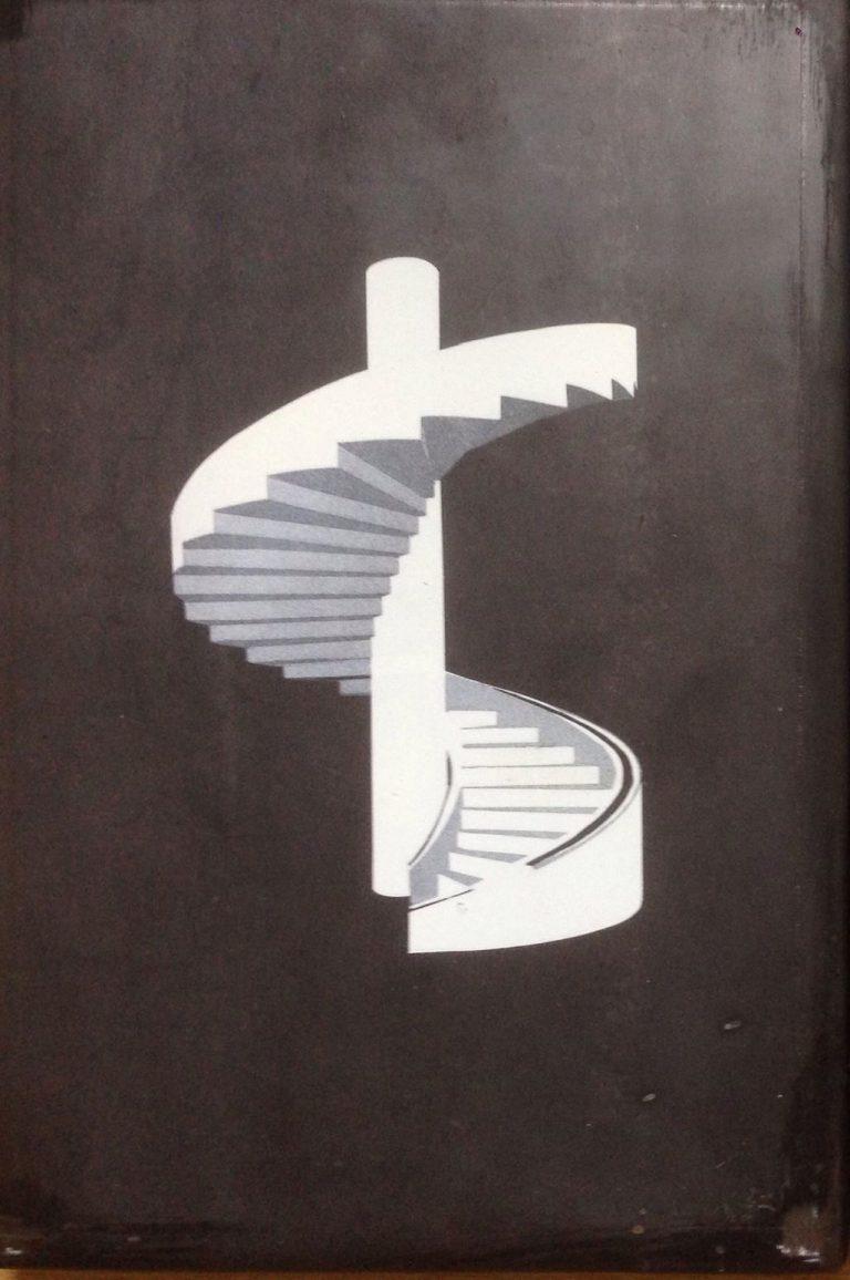 Mudam stairs 1 - Embossed steel plate engraving, single piece20 x 30 x 2 cmEUR 600
